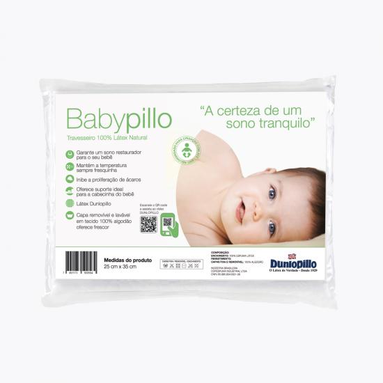 Travesseiro de Látex - Babypillo