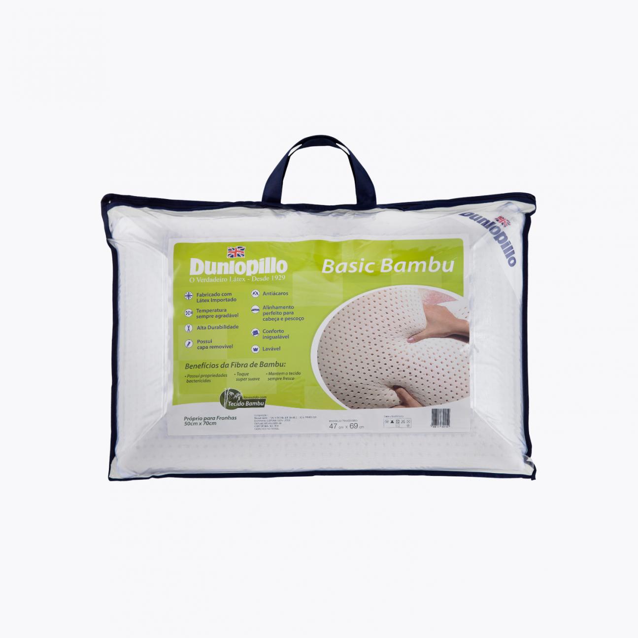 Travesseiro de Látex - Basic Bambu