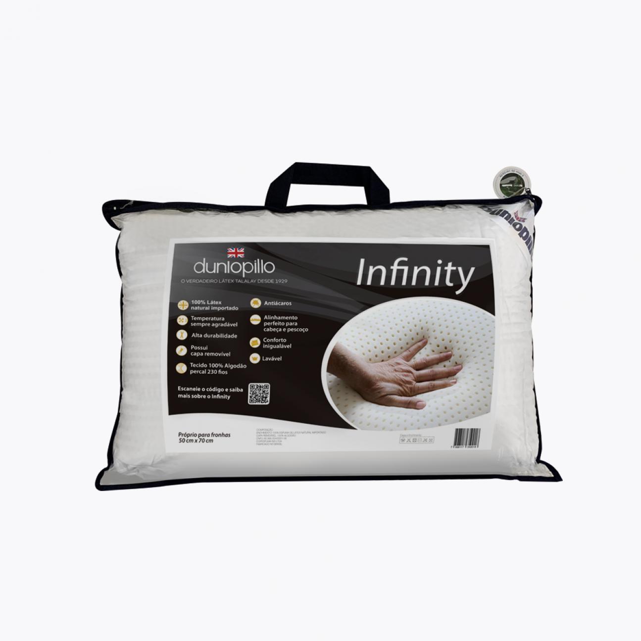Travesseiro de Látex - Infinity